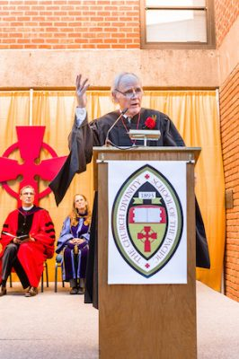 James Carroll commencement address