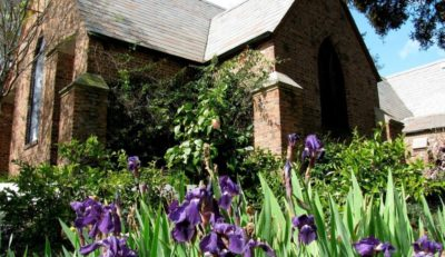 All Saints Chapel in the springtime